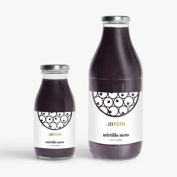 mirtillo nero succo di frutta